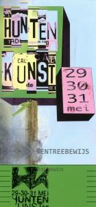 Einladungskarte Huntenkunst 15