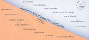 Jurierte Ausstellung Schoenwald