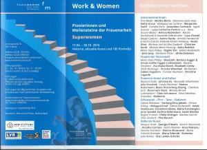 Einladungskarte Work&Women Frauenmuseum Bonn17.04.2016