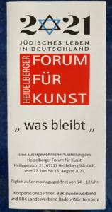 Einladungskarte Heidelberger Forum Temming