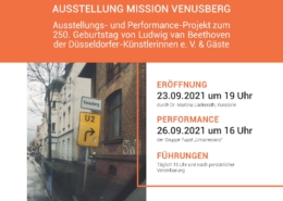 Düsseldorfer Künstlerinnen Venusberg 2021