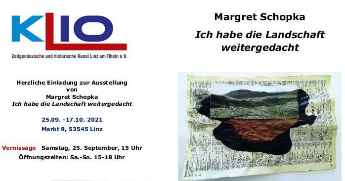 Einladung Margret Schopka 2021